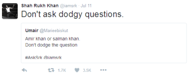 SRK -The Master